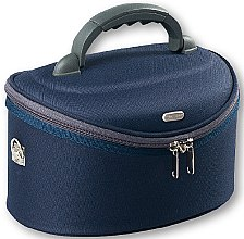 Profumi e cosmetici Beauty case grande, ovale, 95061, blu - Top Choice Oval Navy