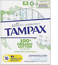 Profumi e cosmetici Tamponi con applicatore, 16 pz - Tampax Cotton Protection Regular