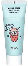 Profumi e cosmetici Maschera idratante all'argilla - Skin79 Animal Color Clay Mask Dry Monkey