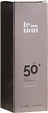 Profumi e cosmetici Crema solare per viso SPF 50 - Le Tout Facial Sun Protect