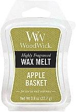 Profumi e cosmetici Cera aromatica - WoodWick Wax Melt Apple Basket