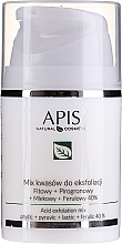 Profumi e cosmetici Miscela di acidi per peeling - APIS Professional Fit + Pirpgron + Milk + Ferulic 40%