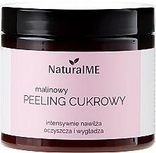 Profumi e cosmetici Peeling corpo allo zucchero e lampone - NaturalME