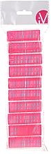 Profumi e cosmetici Bigodini in velcro, 499600, rosa - Inter-Vion