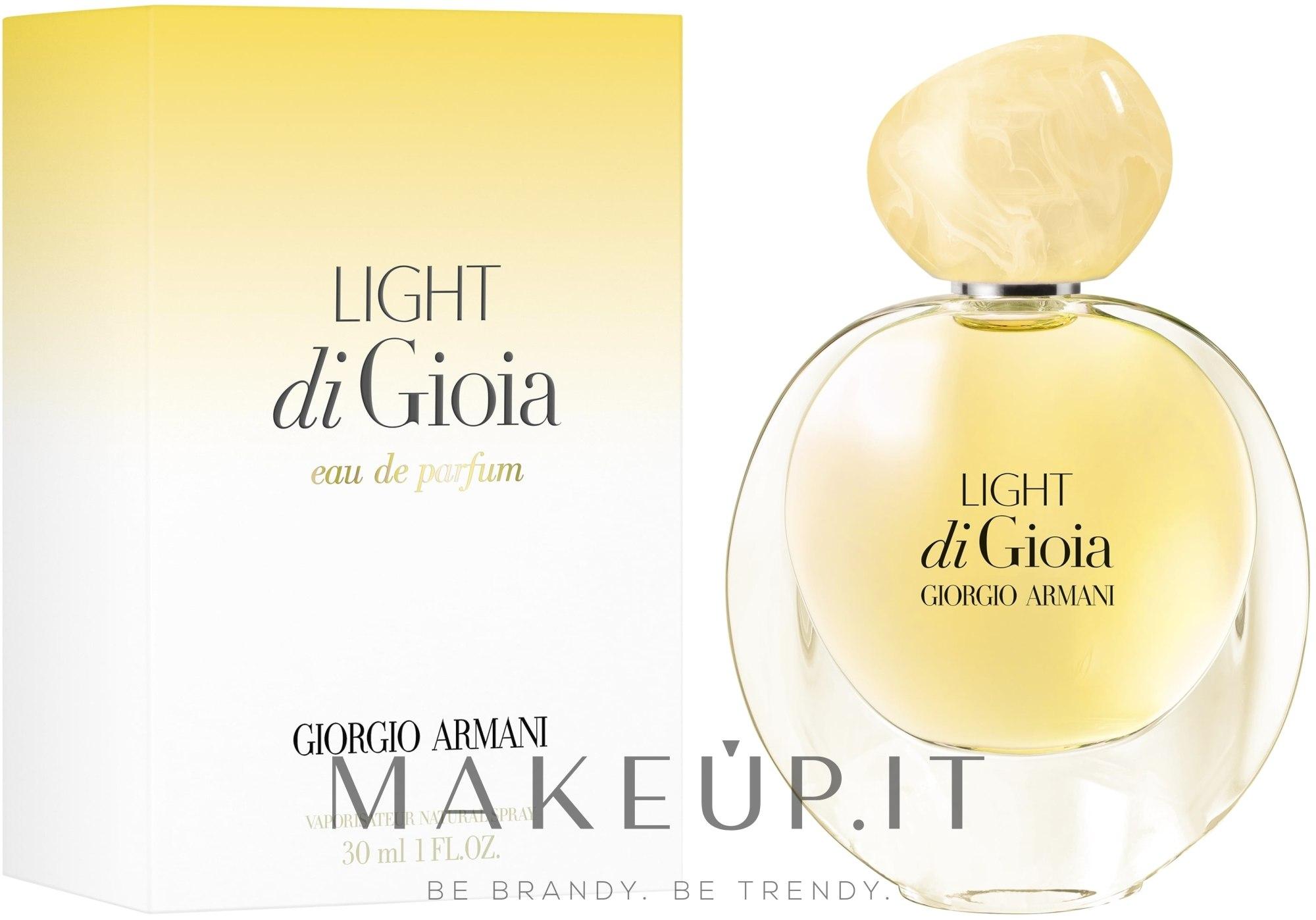 Giorgio Armani Light di Gioia - Eau de Parfum — foto 30 ml