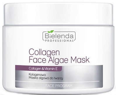 Maschera collagene viso - Bielenda Professional Collagen Face Algae Mask