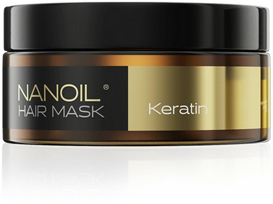 Maschera per capelli con cheratina - Nanoil Keratin Hair Mask
