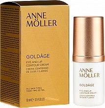 Profumi e cosmetici Crema contorno occhi e labbra - Anne Moller Goldage Eye and Lip Contour Cream