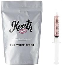 """Profumi e cosmetici Set ricariche per il dispositivo di sbiancamento dei denti """"Lampone"""" - Keeth Raspberry Refill Pack"""