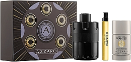 Profumi e cosmetici Azzaro The Most Wanted - Set (edp/100ml + deo/75ml + edp/10ml)