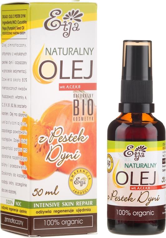 Olio naturale di semi di zucca - Etja Natural Oil