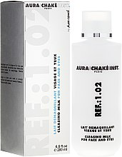Profumi e cosmetici Latte detergente viso e occhi - Aura Chake Cleansing Milk Face & Eyes