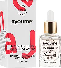 Profumi e cosmetici Olio viso idratante - Ayoume Moisturizing & Hydrating Face Oil With Olive