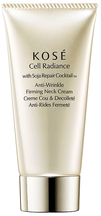 Crema collo anti-età - KOSE Soja Repair Cocktail Cell Radiance Anti-Wrinkle Firming Neck Cream — foto N1