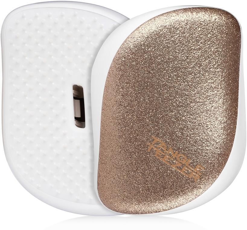 Spazzola districante per capelli - Tangle Teezer Compact Styler Glitter Gold