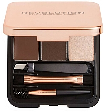 Profumi e cosmetici Set sopracciglia - Makeup Revolution Brow Sculpt Kit
