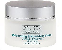 Profumi e cosmetici Crema idratante e nutriente con avocado e aloe vera - Dr. Sea Moisturizing and Nourishing Cream