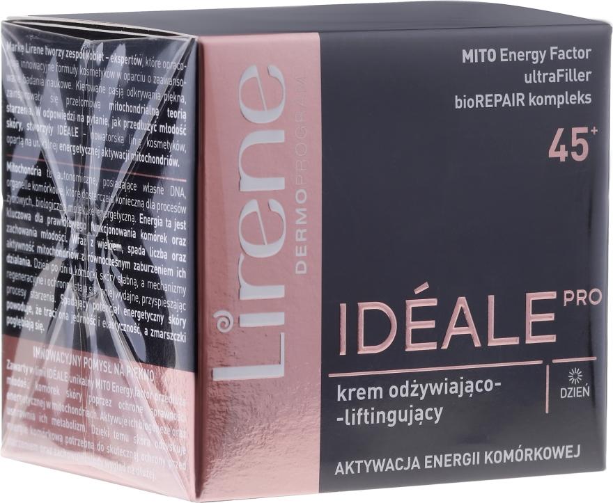 Crema viso da giorno - Lirene Ideale Pro 45+ — foto N1