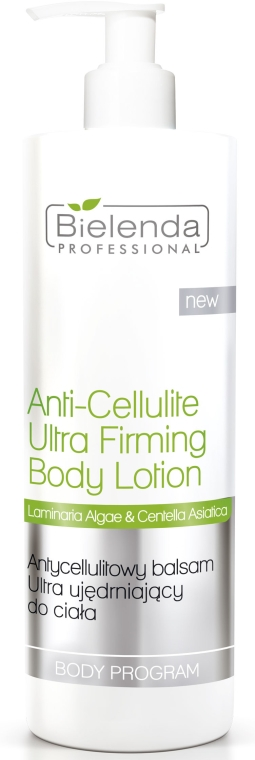 Balsamo corpo anticellulite - Bielenda Professional Body Program Anti-Cellulite Ultra Firming Body Lotion