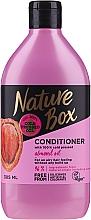 Profumi e cosmetici Balsamo per capelli con olio di mandorle - Nature Box Almond Oil Conditioner