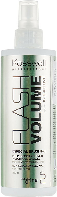 Spray volumizzante - Kosswell Professional Dfine Flash Volume — foto N1