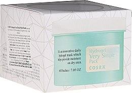 Profumi e cosmetici Patch viso - Cosrx Hydrogel Very Simple Pack