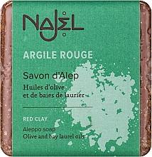 """Profumi e cosmetici Sapone di aleppo """"Argilla rossa"""" - Najel Aleppo Soap with Red Clay"""