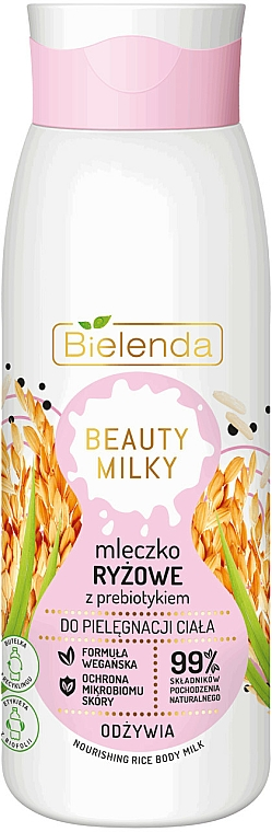 Latte corpo - Bielenda Beauty Milky Nourishing Rice Body Milk