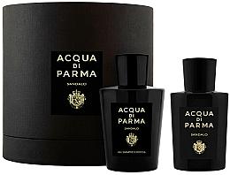 Profumi e cosmetici Acqua di Parma Sandalo - Set (edp/100ml+sh/gel/200ml)