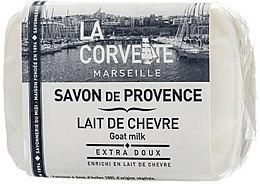 """Profumi e cosmetici Sapone di Provenza """"Latte di capra"""" - La Corvette Provence Soap Goat Milk"""