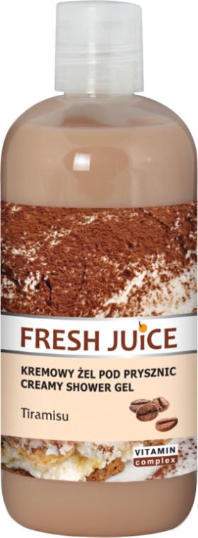 "Crema doccia ""Tiramisu"" - Fresh Juice Tiramisu Creamy Shower Gel"