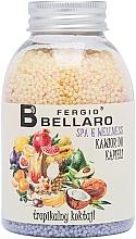 """Profumi e cosmetici Palline da bagno ammorbidenti """"Frutti tropicali"""" - Fergio Bellaro Tropical Cocktail Bath Caviar"""