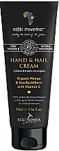 Profumi e cosmetici Crema mani e unghie - Eco by Sonya Hand & Nail Cream For Rafiki Mwema