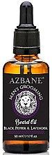 """Profumi e cosmetici Olio per barba """"Pepe nero e lavanda"""" - Azbane Mens Grooming Beard Oil Black Pepper & Lavender"""