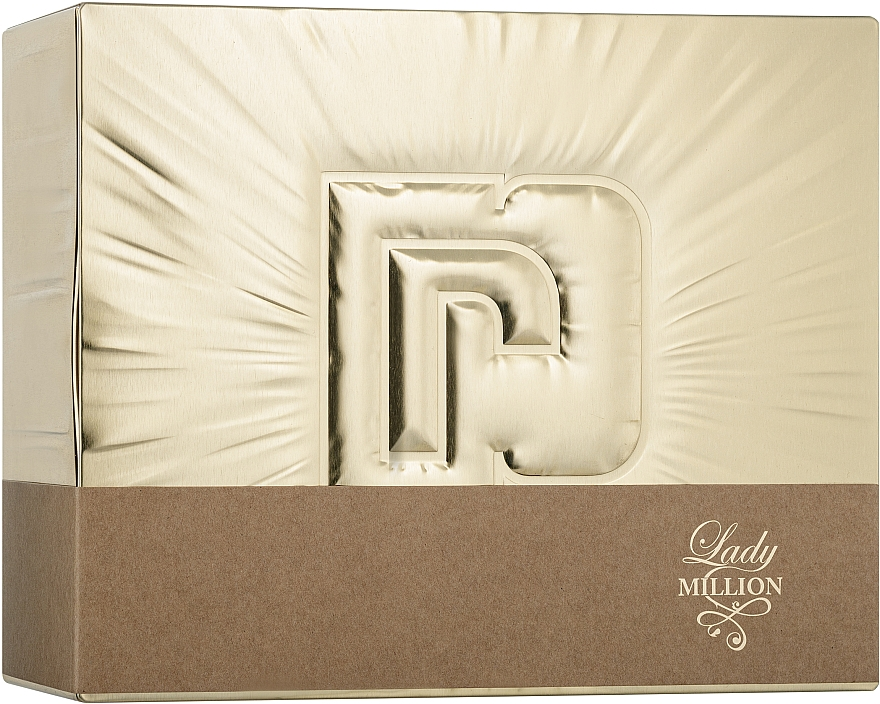 Paco Rabanne Lady Million - Set (edp/50ml + edp/10ml + b/lot/75ml)