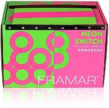 """Profumi e cosmetici Lamina in rotolo con goffratura """"Luce al neon"""", 98 m - Framar Embossed Roll Medium Neon Switch"""