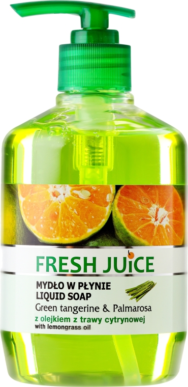 Gel-sapone corpo - Fresh Juice Green Tangerine & Palmarosa