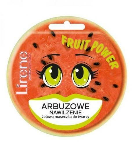 "Maschera in gel per viso ""Anguria"" - Lirene Fruit Power"