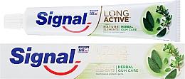 Profumi e cosmetici Dentifricio per proteggere le gengive - Signal Long Active Natural Elements