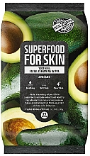 Profumi e cosmetici Salviette detergenti viso all'avocado - Superfood For Skin Fresh Food Facial Cleansing Wipes