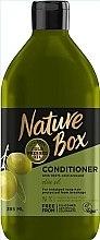 Profumi e cosmetici Balsamo con olio d'oliva per la cura dei capelli lunghi - Nature Box Conditioner Olive Oil