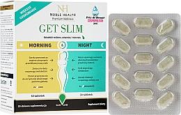 Profumi e cosmetici Integratore alimentare a supporto del dimagrimento, 90 pz - Noble Health Get Slim Morning & Night