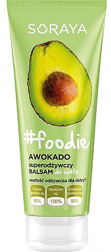 "Balsamo corpo nutriente ""Avocado"" - Soraya Foodie"