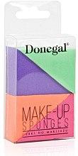Profumi e cosmetici Spugna trucco, 4305, 4 pezzi - Donegal Sponge Make-Up