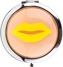 Profumi e cosmetici Specchio cosmetico tascabile, 85680, giallo - Top Choice