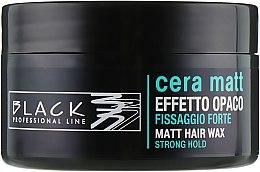 Profumi e cosmetici Cera con effetto opaco - Black Professional Line Cera Matt Effetto Opaco