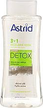 Profumi e cosmetici Acqua micellare per pelli da normali a grasse - Astrid CityLife Detox 3v1