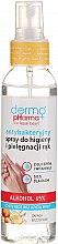 Profumi e cosmetici Spray antibatterico per l'igiene delle mani alla pesca - Dermo Pharma Antibacterial Hand Spray