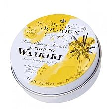 Profumi e cosmetici Candela da massaggio al profumo di Pina Colada - Petits JouJoux Mini A Trip To Waikiki