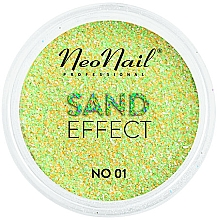 """Profumi e cosmetici Glitter per unghie """"Effetto sabbia"""" - NeoNail Professional Sand Effect"""